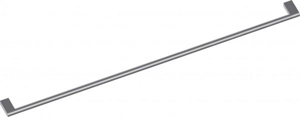 Gaggenau GH080010 Möbelgriff mit 2 Halterungen, Edelstahl, Länge 80 cm, Bohrabstand 777 mm
