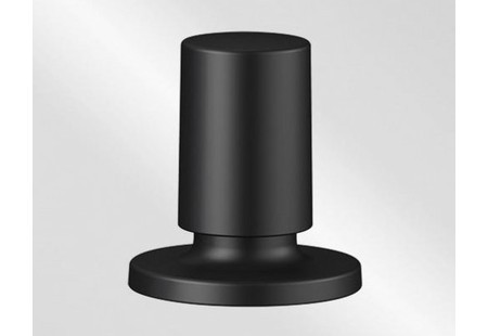 Blanco Zugknopf rund Messing schwarz matt 238688