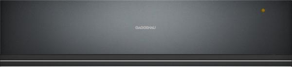 Gaggenau WSP221100 Wärmeschublade Serie 200 Glasfront in Gaggenau Anthrazit Breite 60 cm, Höhe 14 cm