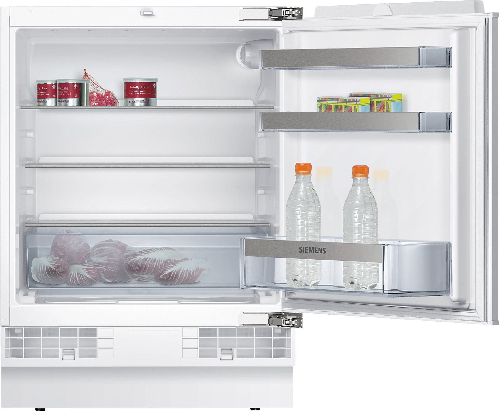 Siemens KU15RA65 iQ500 Unterbau-Kühlschrank Flachscharnier-Technik ...