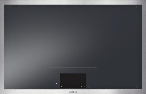 Gaggenau CX482110 Vollflächen-Induktionskochfeld Serie 400 Edelstahlrahmen Breite 80 cm