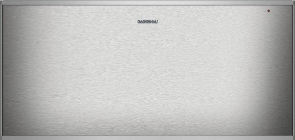 Gaggenau WS462110 Wärmeschublade Serie 400 Edelstahl-hinterlegte Glasfront Breite 60 cm, Höhe 29 cm
