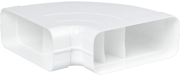 Gaggenau AD852031 Flachkanal-System mit Luftleit-Lamellen Kunststoff Anschlussstutzen für NW 125/150