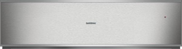 Gaggenau WS482110 Wärmeschublade Serie 400 Edelstahl-hinterlegte Glasfront Breite 76 cm, Höhe 21 cm