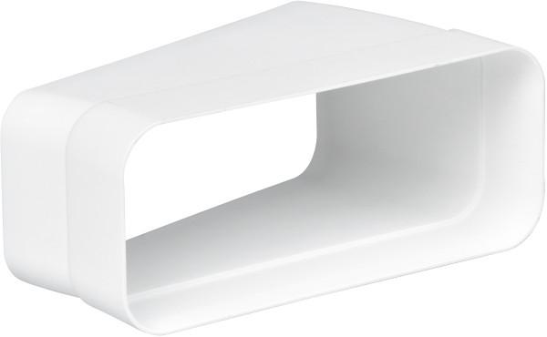 Gaggenau AD852032 Flachkanal-System mit Luftleit-Lamellen Kunststoff Anschlussstutzen für NW 125/150