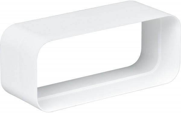 Gaggenau AD852040 Flachkanal-System mit Luftleit-Lamellen Kunststoff Anschlussstutzen für NW 125/150