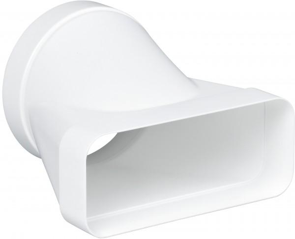 Gaggenau AD852041 Flachkanal-System mit Luftleit-Lamellen Kunststoff Anschlussstutzen für NW 125/150