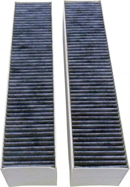 Gaggenau AA413110 2 Aktivkohlefilter mit besonders hoher Geruchsreduktion durch vergröflerte Oberfläc