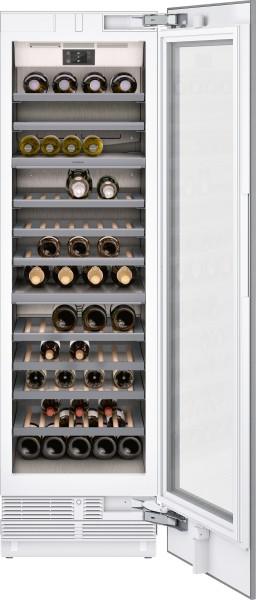 Gaggenau RW466364 Vario Weinklimaschrank Serie 400 Voll integrierbar, mit Glastür Nischenbreite 61 c