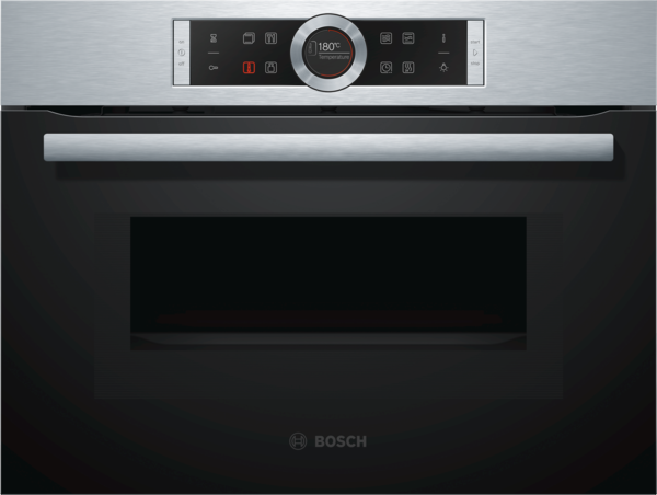 Bosch CMG633BS1 Edelstahl Kompaktbackofen mit Mikrowelle