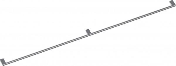 Gaggenau GH120010 Möbelgriff mit 3 Halterungen, Edelstahl, Länge 120 cm, Bohrabstand jeweils 588,5 m